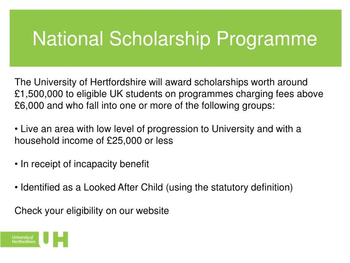 National Scholarship Programme