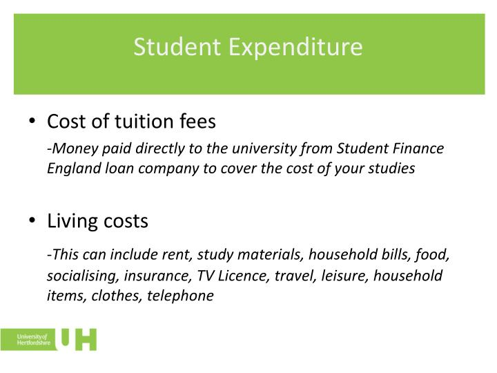 Student Expenditure