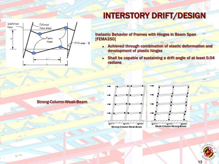 INTERSTORY DRIFT/DESIGN