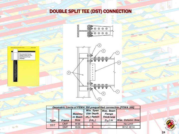 DOUBLE SPLIT TEE (DST) CONNECTION
