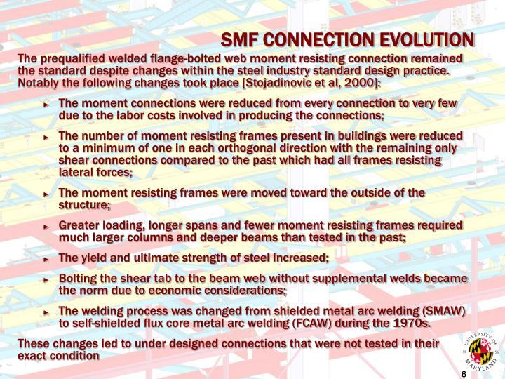 SMF CONNECTION EVOLUTION