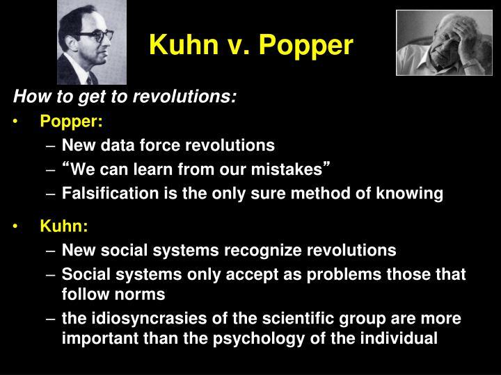 Kuhn v. Popper