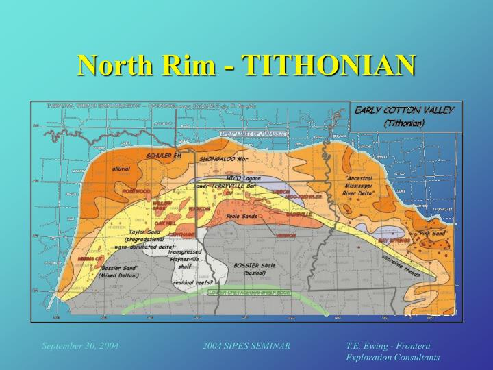 North Rim - TITHONIAN