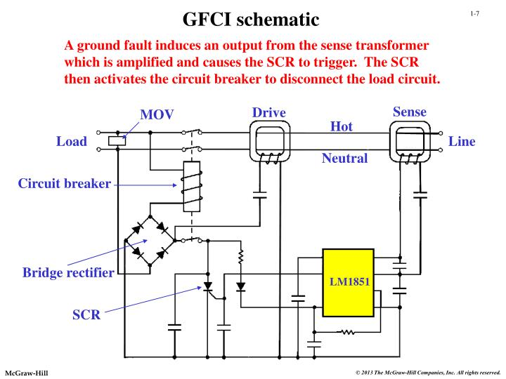 GFCI schematic