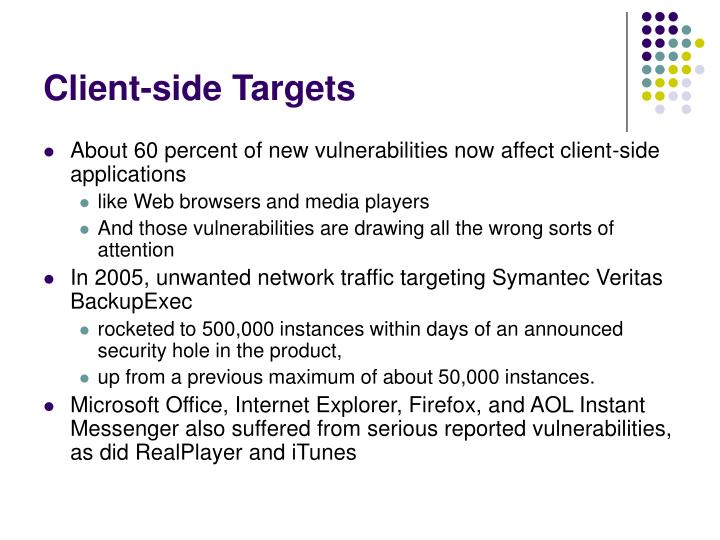 Client-side Targets