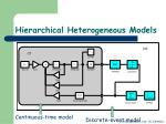 hierarchical heterogeneous models