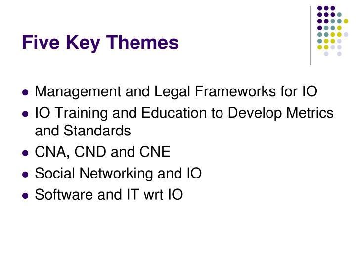 Five Key Themes