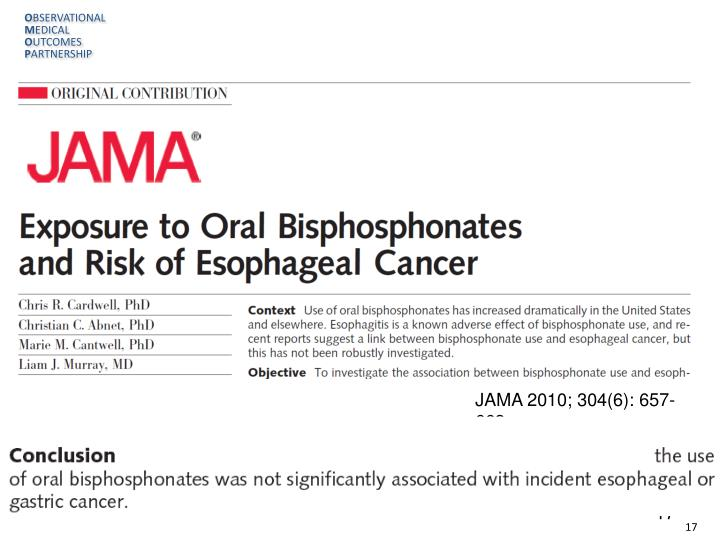 JAMA 2010; 304(6): 657-663