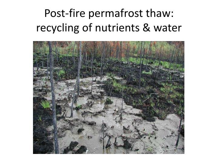 Post-fire