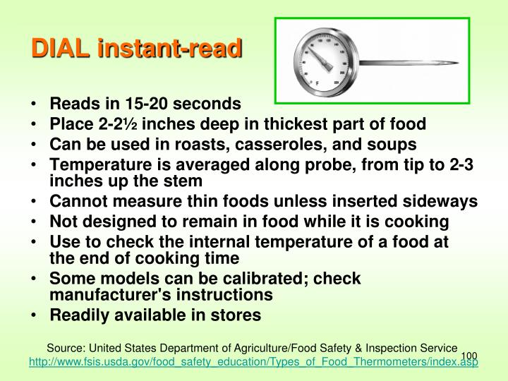 DIAL instant-read