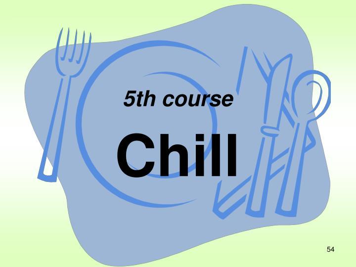 5th course