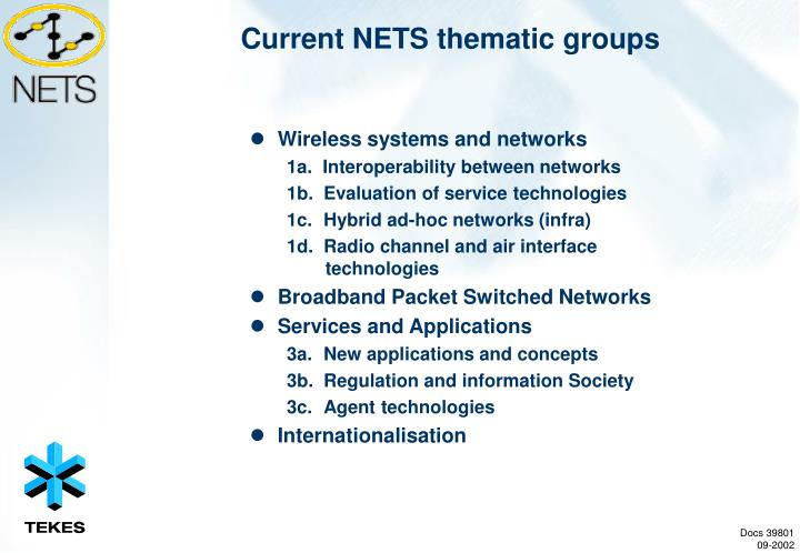 Wireless systems and networks