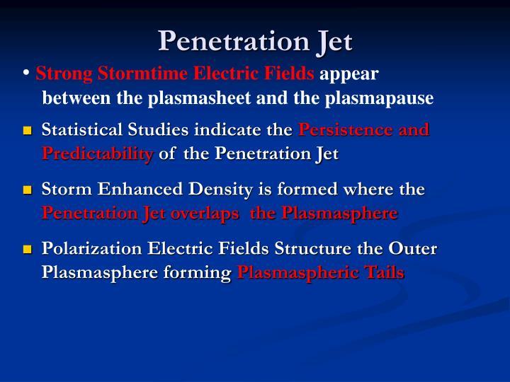 Penetration Jet