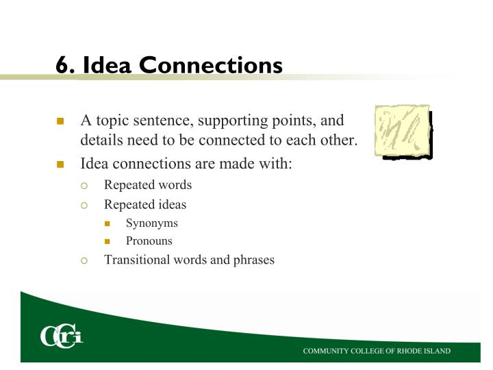 6. Idea Connections