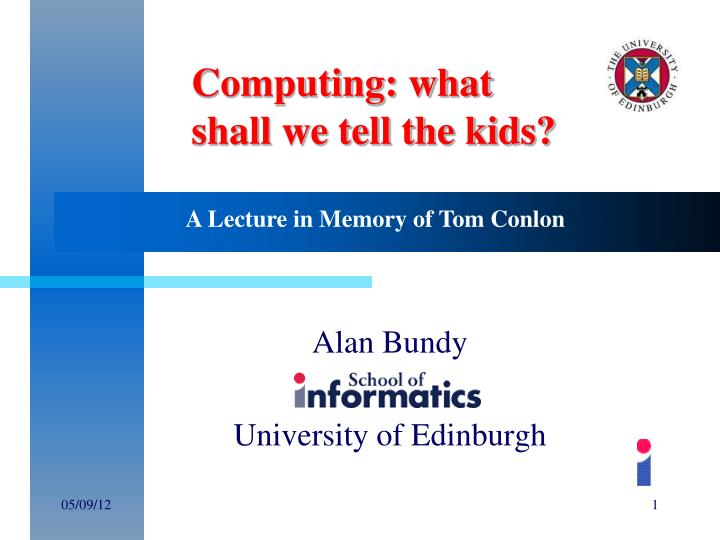 alan bundy university of edinburgh