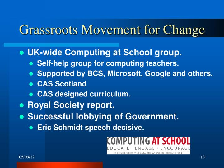 Grassroots Movement for Change