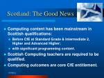 scotland the good news