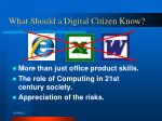 what should a digital citizen know