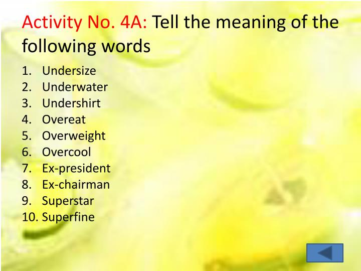Activity No. 4A: