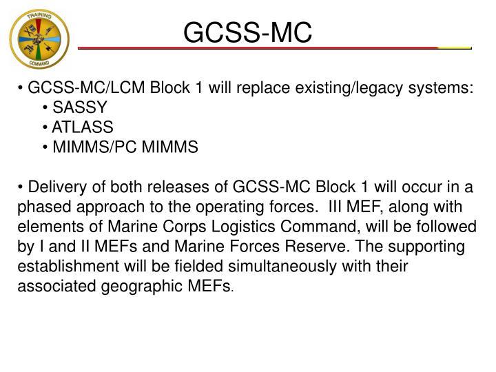 GCSS-MC
