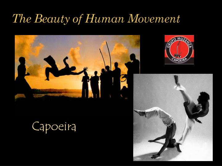 The Beauty of Human Movement