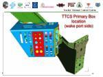 ttcs primary box location wake port side