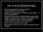 do your homework4