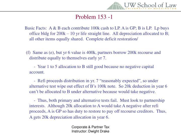 Problem 153 -1