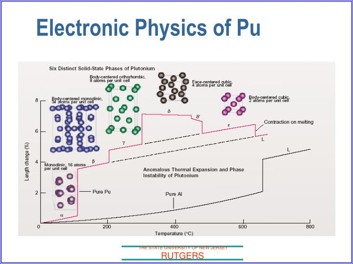 Electronic Physics of Pu