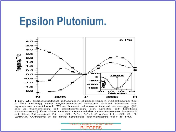 Epsilon Plutonium.