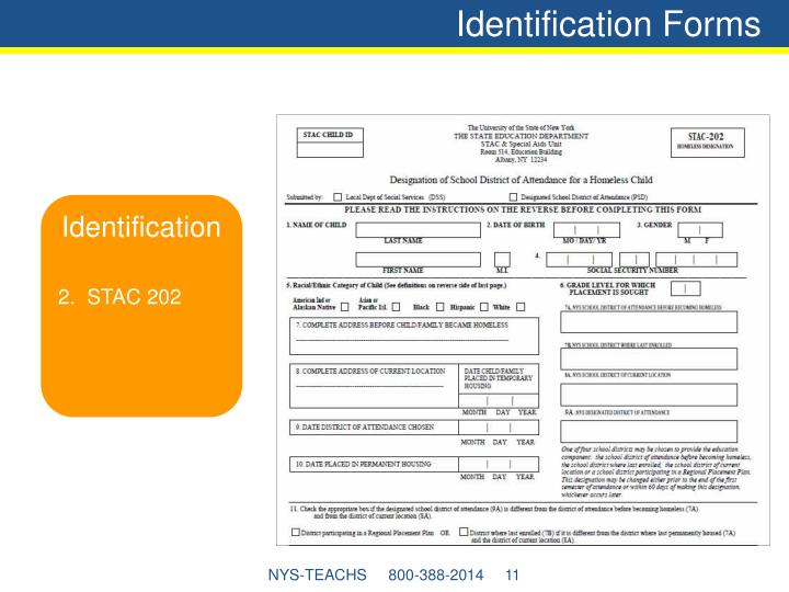 Identification Forms
