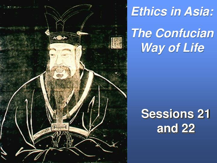 Ethics in Asia: