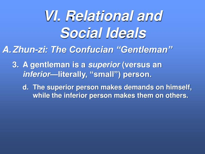 VI. Relational and