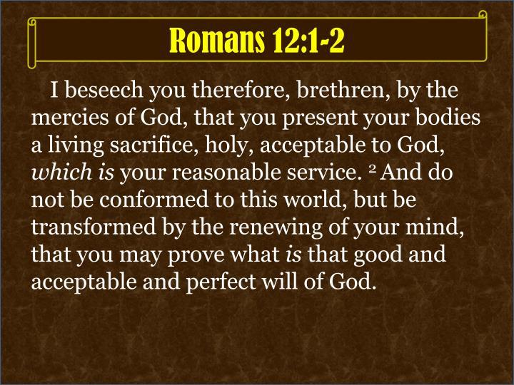Romans 12:1-2