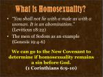 what is homosexuality1