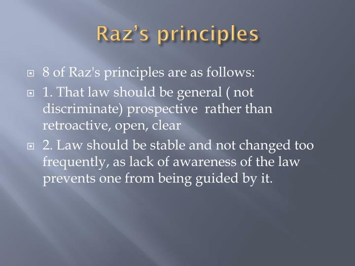 Raz's