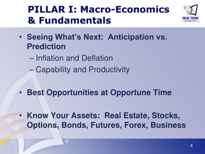 PILLAR I: Macro-Economics & Fundamentals