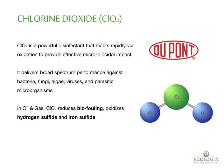 CHLORINE DIOXIDE (ClO