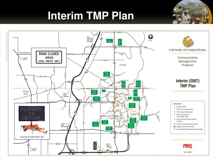 Interim TMP Plan