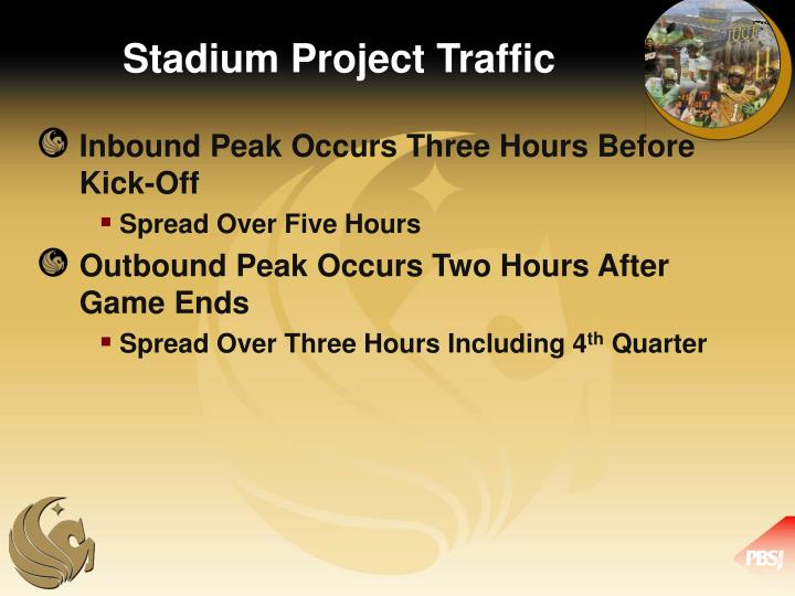 Stadium Project Traffic