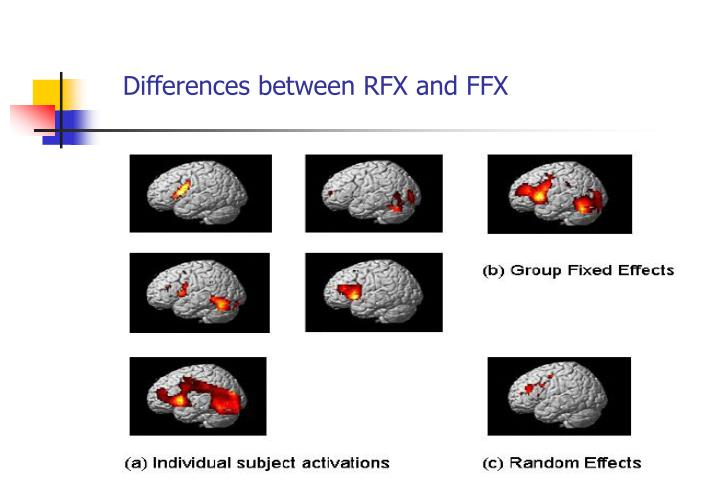 Differences between RFX and FFX