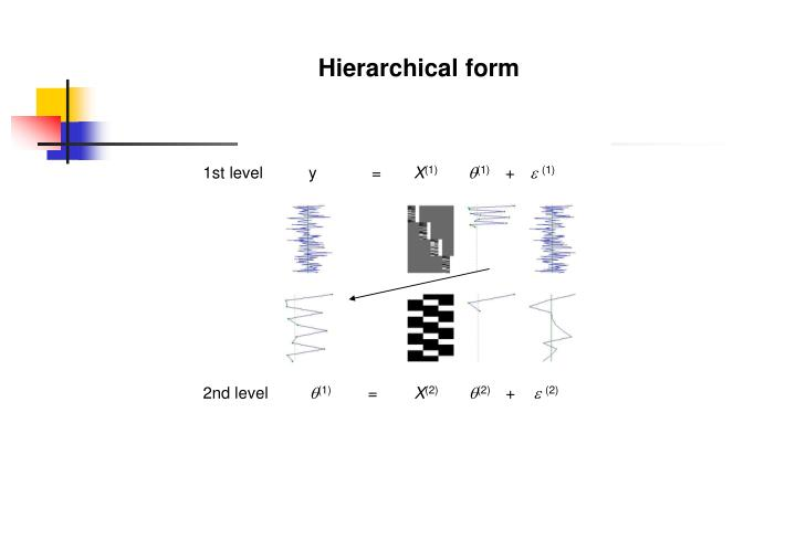Hierarchical form