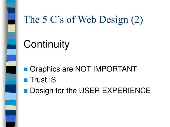 The 5 C's of Web Design (2)