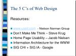the 5 c s of web design24
