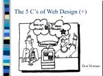 the 5 c s of web design4