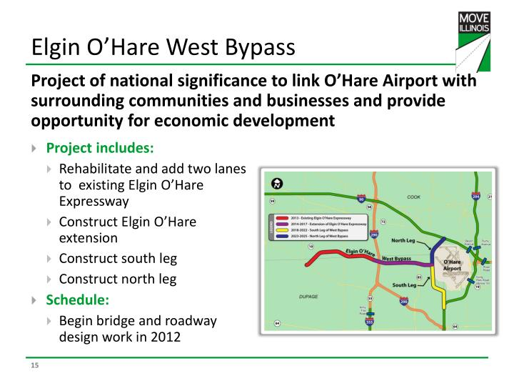 Elgin O'Hare West Bypass