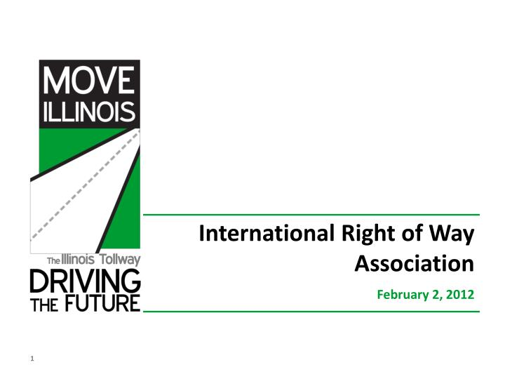 international right of way association