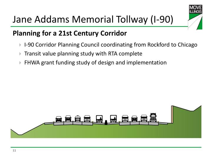 Jane Addams Memorial Tollway (I-90)