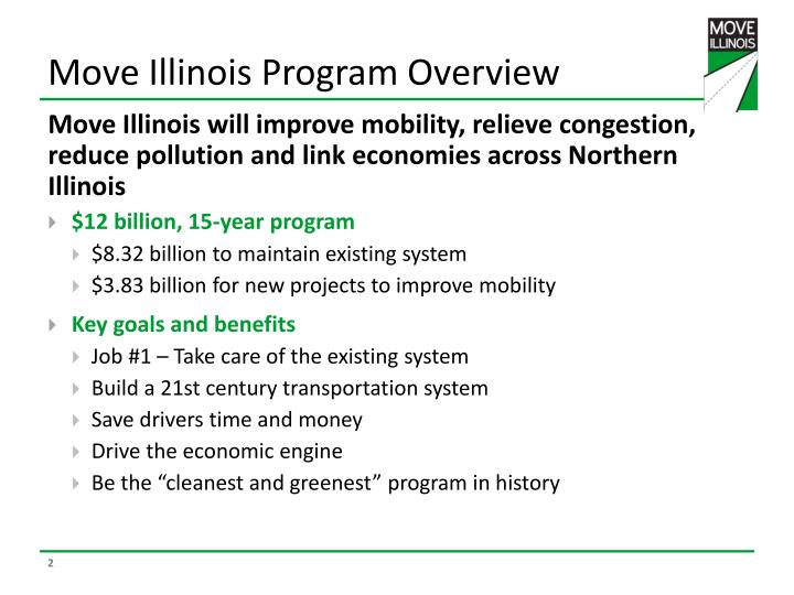 Move illinois program overview