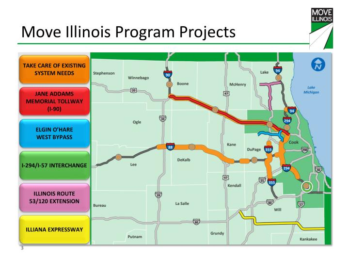 Move illinois program projects